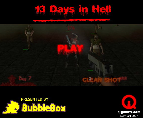 13 days in hell cheat 13 days in hell