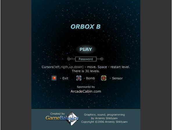 Захватывающая логическая игра Orbox B