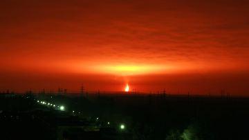 Фото взрыва газа