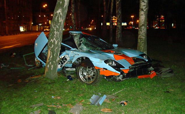 Аварии дорогих машин