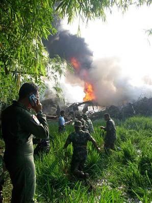 крушение самолета Индонезия