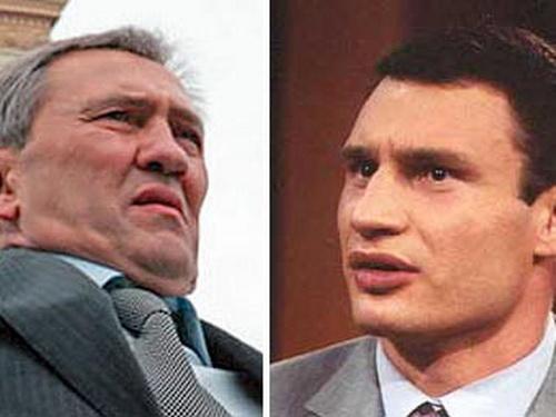Кличко против Черновецкого