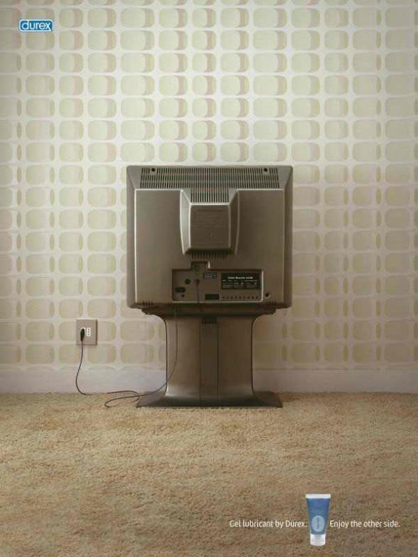 Фото дизайнера креативной рекламы. Умей видеть обратную сторону вещей. Телевизор