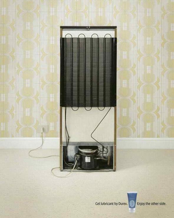 Фото дизайнера креативной рекламы. Умей видеть обратную сторону вещей. Холодильник