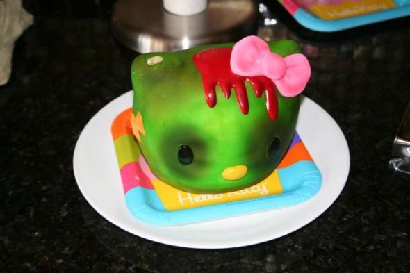 Торт-зомби