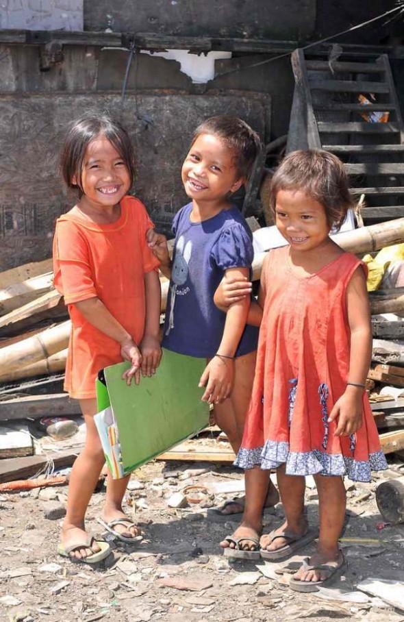 Дети Филиппин