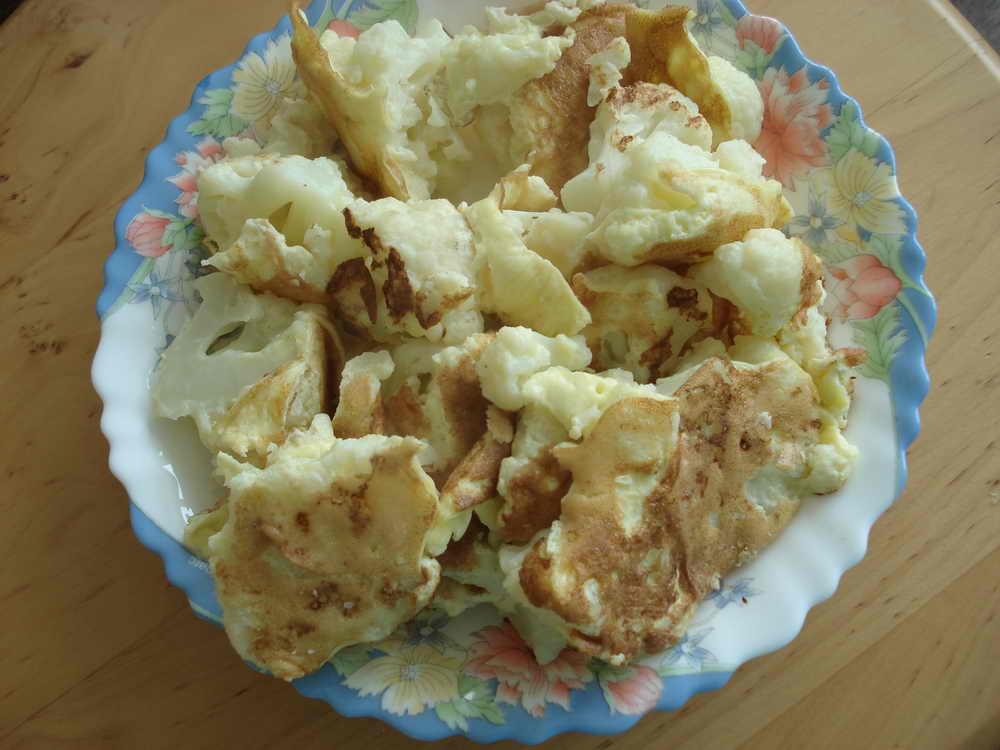 Вкусное блюдо из цветной капусты