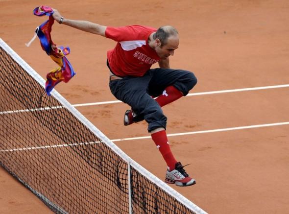 Роджер Фэдэрер теннис
