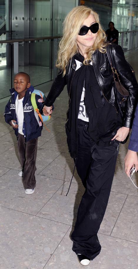 Мадонна и Джэймс