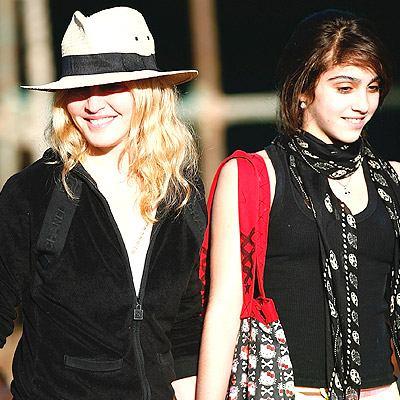 Мадонна с дочерью