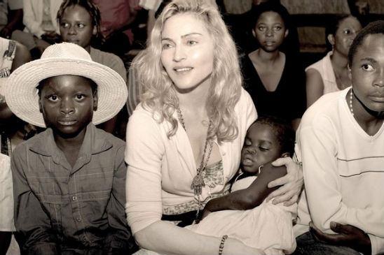Мадонна и Мэрси
