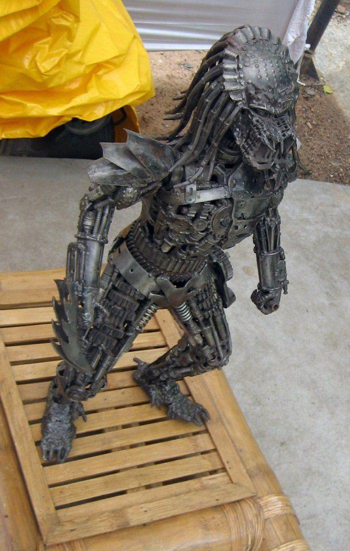Статуя из металла своими руками