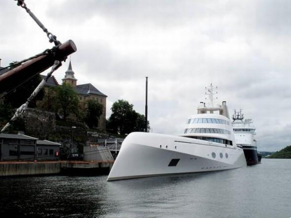 Яхта А Sigma