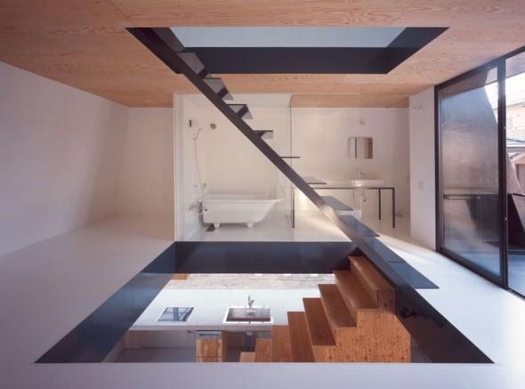 black pyramid house