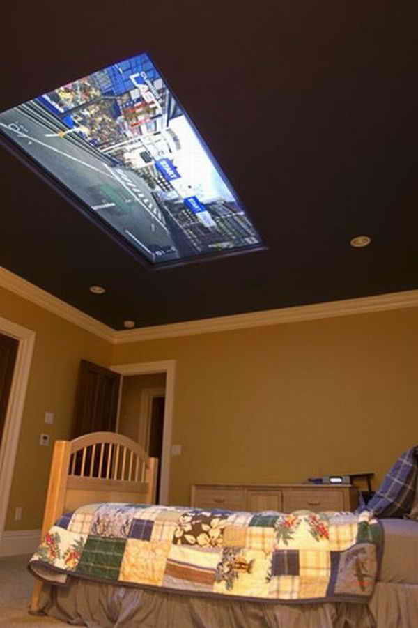 плазма в потолке