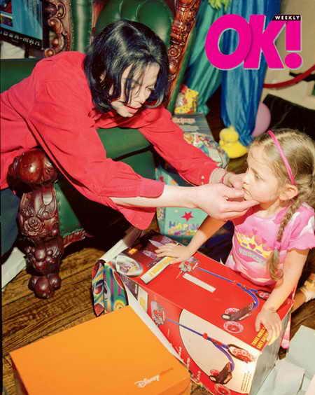 Ранее неопубликованные фото детей Майкла Джексона