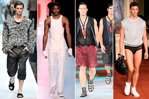Dolce & Gabbana, Jean Paul Gaultier, Emporio Armani, Alexis Mabille