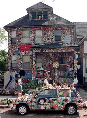 Сумасшедший дом в горошек