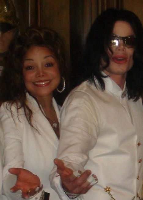 ЛаТоя и Майкл Джексон
