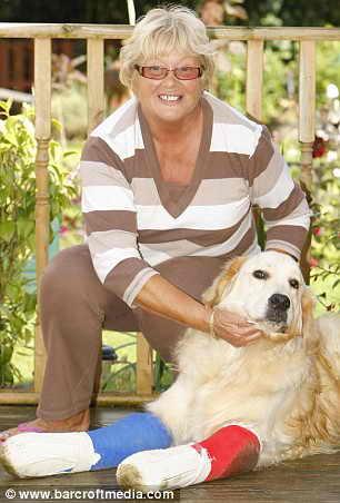 Чудом выжившая собака Мак