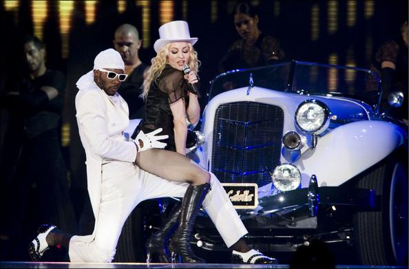 Мадонна ругается матом