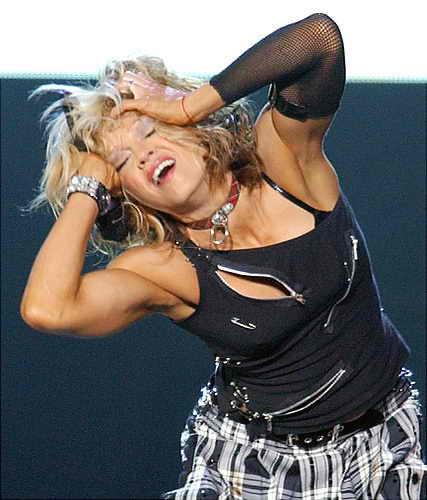 Бицепсы Мадонны 2001