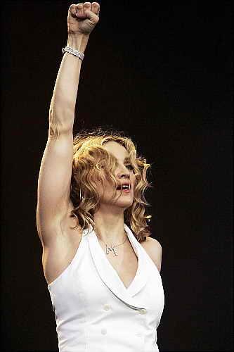 Бицепсы Мадонны 2005