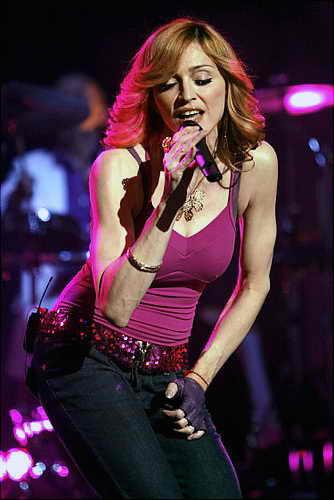 Бицепсы Мадонны 2006