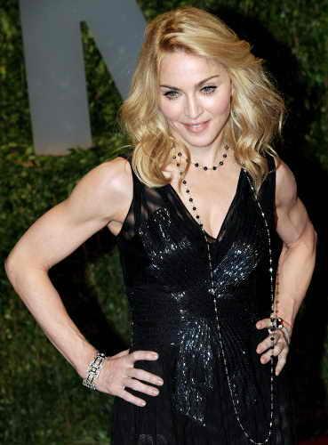 Бицепсы Мадонны сегодня