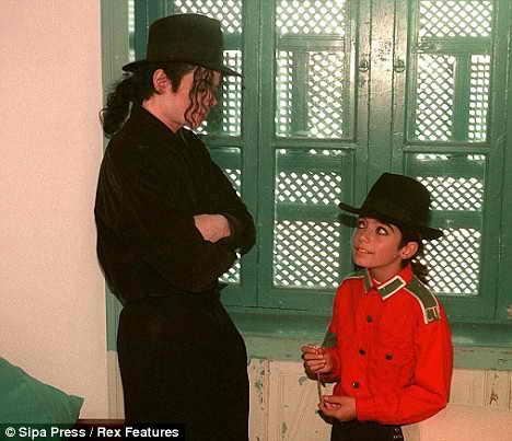 Майкл Джексон и Омер Батти - первая встреча