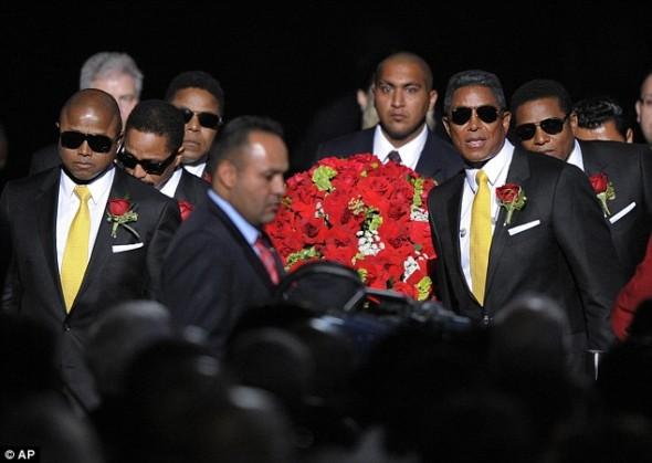 Прощальные речи на похоронах Майкла Джексона