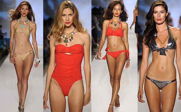 Супер купальники. Неделя моды в Майами