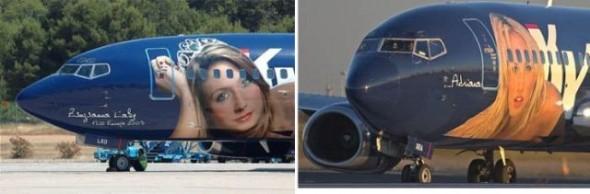 картинки на самолетах