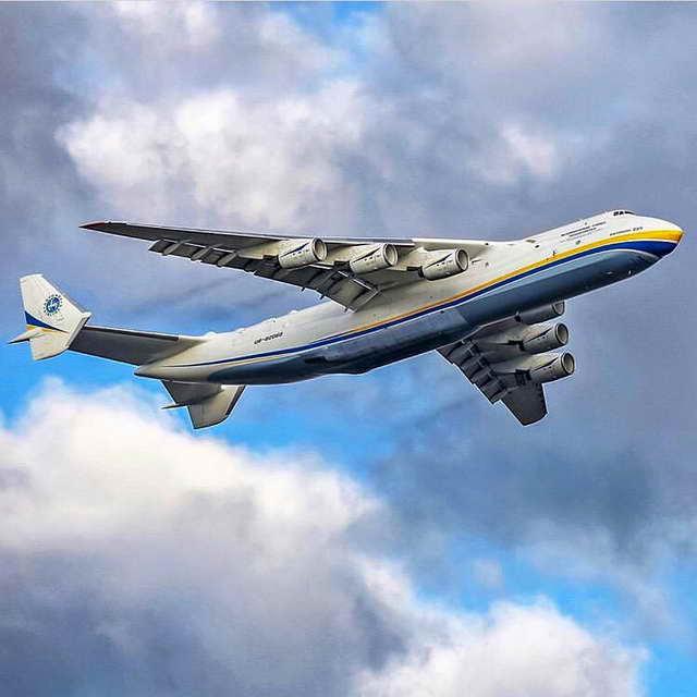 "Ан-225 ""Мрія"" Самый большой грузовой самолет"