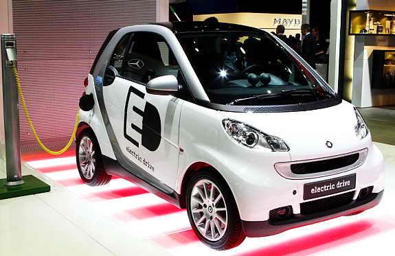 Элетромобиль Daimler Ags Smart Ed