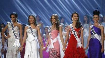 Финалистки Мисс Вселенная 2009