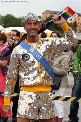гей-парад в Стокгольме