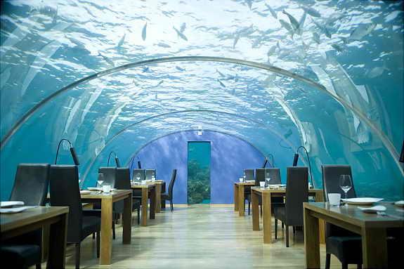 Подводный отель Jules Undersea Lodge