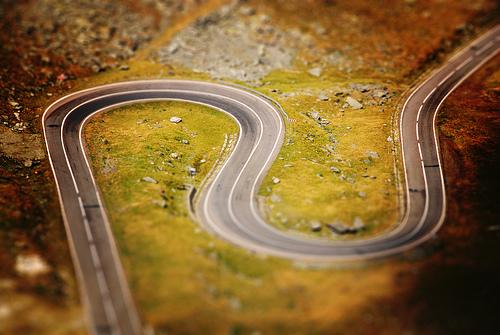 миниатюра дороги из Книги рекордов Гиннеса
