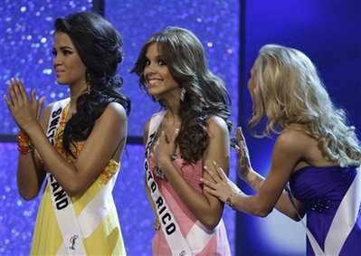Мисс Пуэрто Рико Майра Матос Перез - попадение в пятерку финалисток