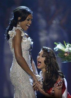 Победа! Названо имя Мисс Вселенной 2009