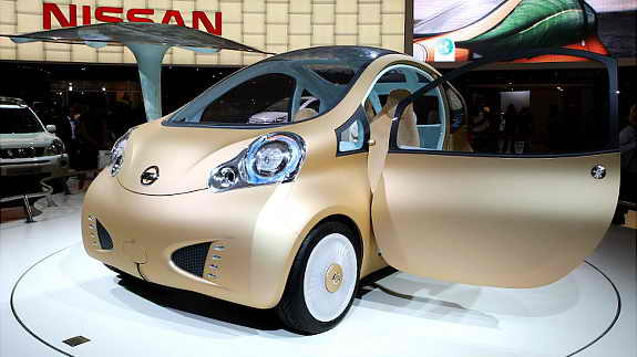 Элетромобиль Nissan Nuvu