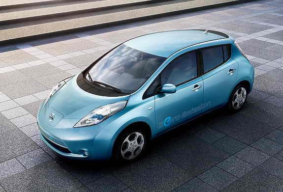 Элетромобиль Nissans Leaf