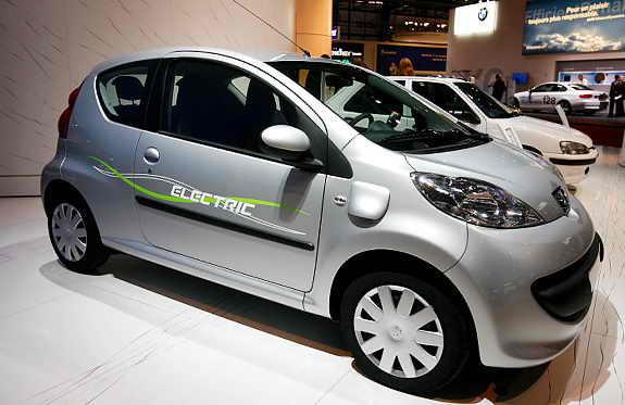 Элетромобиль Peugeot