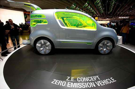 Элетромобиль Renault SAS Ze