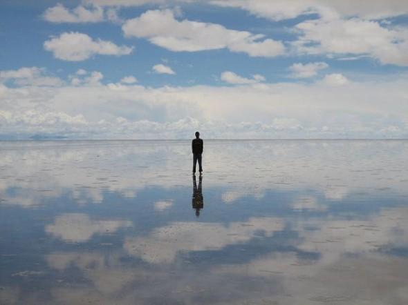 самое большое зеркало