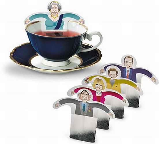 Прикольные чайные пакетики