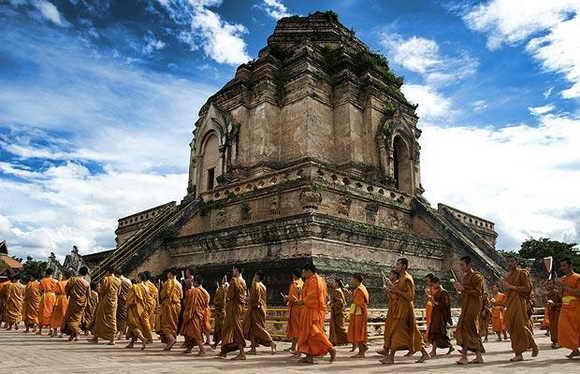 Храм в Чиянг Маи, Тайланд