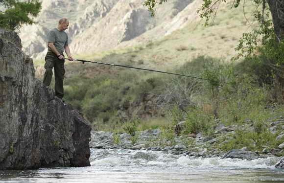 Владимир Путин любит активный отдых