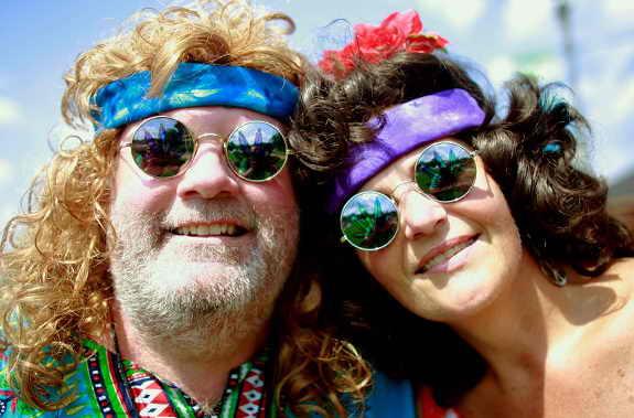 Ремо и Джон Мисик на музыкальном фестивале Woodstock